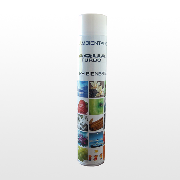 Spray de gran descarga (TURBO)